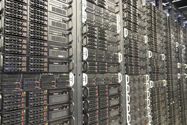 Racks of Los Angeles Dedicated Servers | 800 South Hope St, Los Angeles, CA