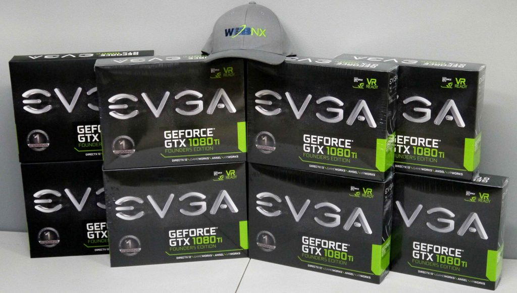 WebNX now offers EVGA GTX 1080TI GPU Enabled Servers featuring the New Intel e3 1275v6!