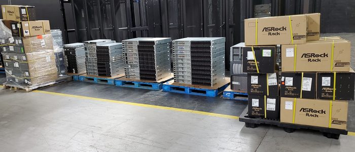 Servers in stock